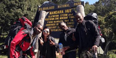 Kilimanjaro Climbing Marangu Route 5Days